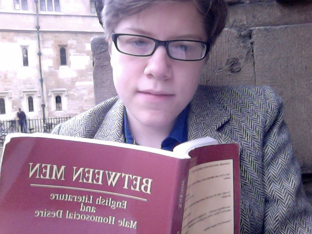 Aged 21, still new to Oxford.